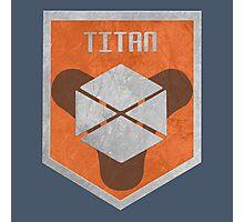 Destiny Titan Badge Photographic Print