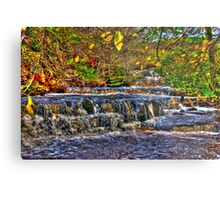Waterfalls at Kearton (HDR) Metal Print