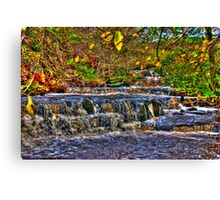 Waterfalls at Kearton (HDR) Canvas Print