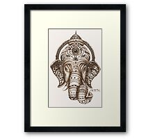 Ganesha - Lucky God - Hindu God of Wisdom Framed Print