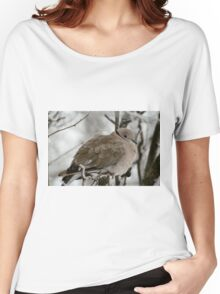 Eurasian Collared Dove Women's Relaxed Fit T-Shirt