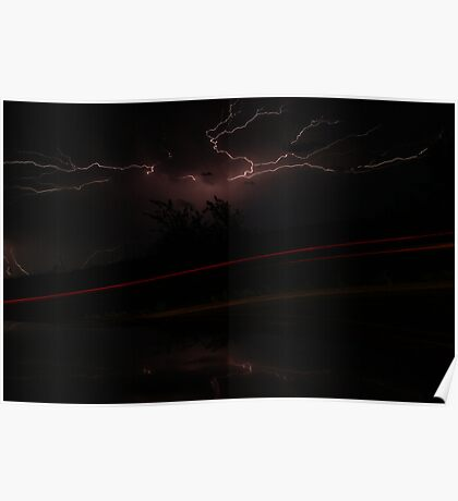 Lightning storm on Friday the 13th part 2 Poster