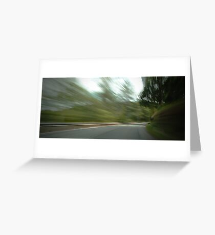 Rounding the Bend... Greeting Card