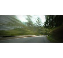 Rounding the Bend... Photographic Print