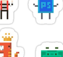 Look at those guys - Set of 8 Sticker