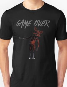 Game Over: Foxy Unisex T-Shirt