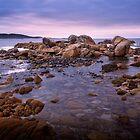 Daybreak at Grassy Harbour (King Island, Tasmania) by Karen Scrimes