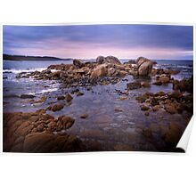 Daybreak at Grassy Harbour (King Island, Tasmania) Poster