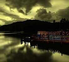 Lake Windermere at Night by Bootkneck