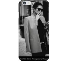 FASHION AT THE CROSSWALK iPhone Case/Skin