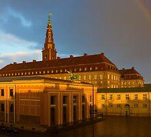 Christiansborg Palace in Copenhagen, Denmark by Atanas Bozhikov