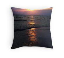 colorful Panama City Beach Throw Pillow