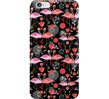 beautiful pattern lovers flamingos iPhone Case/Skin