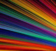 Shafts of Rainbow Light by wolfepaw