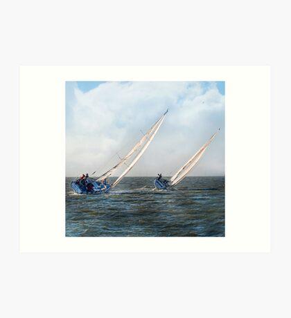 Sail A Vie  ~ inside current~ Art Print