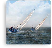 Sail A Vie  ~ inside current~ Canvas Print