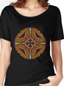 DMT Emblem by Salvia Droid Women's Relaxed Fit T-Shirt