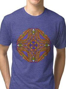 DMT Emblem by Salvia Droid Tri-blend T-Shirt