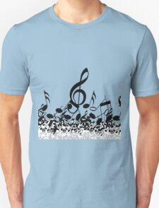 Music Note's BW 2 T-Shirt