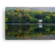 Autumn Woodland - Grasmere, Cumbria, England Canvas Print