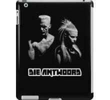 Die Antwoord - Yolandi & Ninja Black&White iPad Case/Skin