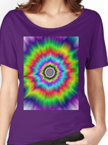 Psychedelic Explosion Women's Relaxed Fit T-Shirt