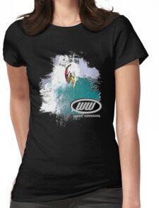 fluid dynamics Womens Fitted T-Shirt