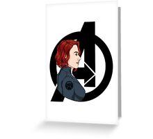 The Avengers: Black Widow Greeting Card