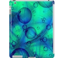 Feathers and Bubbles Abstract iPad Case/Skin