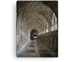 Vaulted ceiling, Gloucester Cathedral Canvas Print