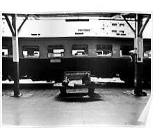 Railway station nap Poster