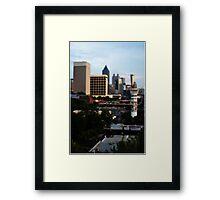Atlanta - Capital of The South Framed Print