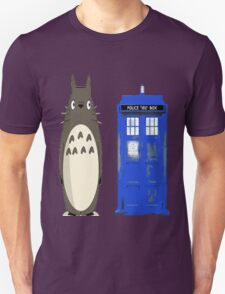 Totoro meets the tardis Unisex T-Shirt