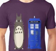 Totoro meets the tardis Unisex T-Shirt