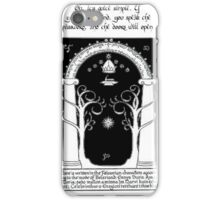 Door to moria iPhone Case/Skin
