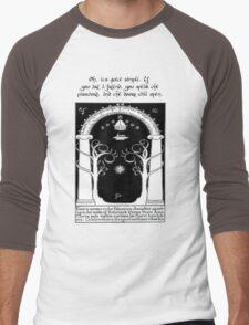 Door to moria Men's Baseball ¾ T-Shirt
