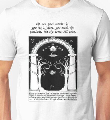 Door to moria Unisex T-Shirt