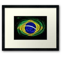 Brazil Twirl Framed Print