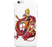 SanGoku and Shenron iPhone Case/Skin