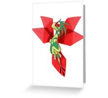 Mega Flygon Greeting Card
