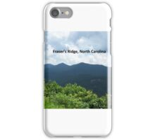 OUTLANDER Fraser's Ridge, North Carolina iPhone Case/Skin