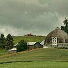 Barn Near Pullman, Washington by Susan Russell