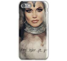 Kneel Before The Queen iPhone Case/Skin