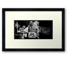 Big Labowski Framed Print