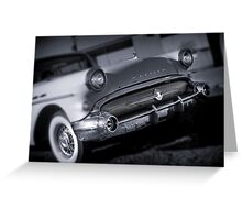 A big old Buick. Greeting Card