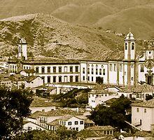 Ouro Preto, Brazil by Quasebart