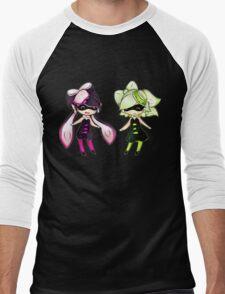 Squid Sisters Men's Baseball ¾ T-Shirt