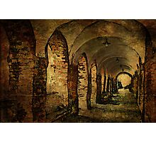 Arches at the house of the Holy Ghost Photographic Print