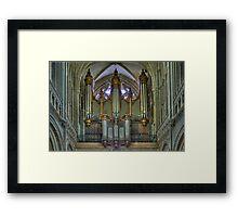 Notre-Dame de Bayeux -The Big Organ Cavaillé-Coll Framed Print