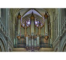 Notre-Dame de Bayeux -The Big Organ Cavaillé-Coll Photographic Print